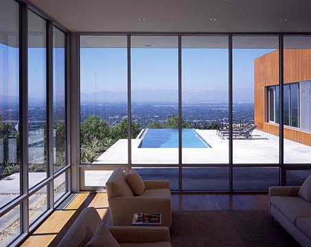 piscine contemporaine - piscine moderne - piscine inox